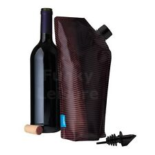 Vapur After Hours Flexible Collapsible Wine Bottle - 750ml Wine Carrier