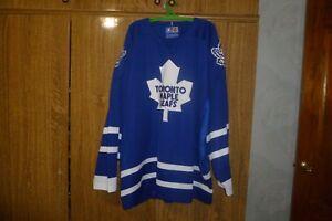 Toronto-Maple-Leafs-Starter-NHL-Vintage-Hockey-Jersey-Hip-Hop-Rap-Rare-Size-2XL
