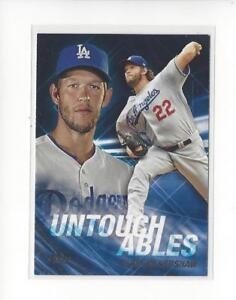 2017-Topps-Update-Untouchables-U21-Clayton-Kershaw-Dodgers