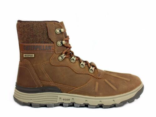 Caterpillar STICTION HI ICE+W Waterproof Men/'s Insulated Brown Leather Boot
