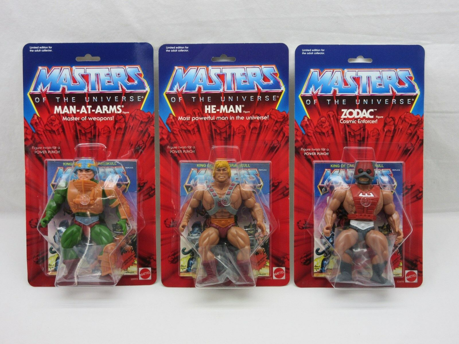 MOTU,Commemorative HE-MAN,MAN-AT-ARMS,ZODAC,MOC,Masters of of HE-MAN,MAN-AT-ARMS,ZODAC,MOC,Masters the Universe,Lot babbae
