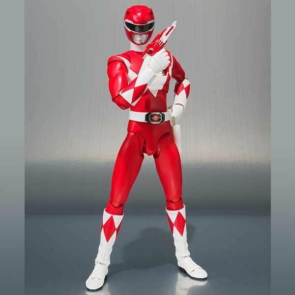 bajo precio Power Power Power Rangers rojo Ranger SDCC 2018 Exclusive S.H. SH Figuarts Acción Figura  venderse como panqueques