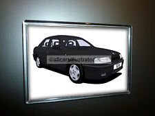 VAUXHALL CAVALIER GSi FRIDGE MAGNET (LARGE). CHOOSE YOUR CAR COLOUR.