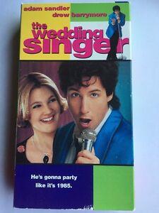 Image Is Loading The Wedding Singer VHS Adam Sandler Drew Barrymore