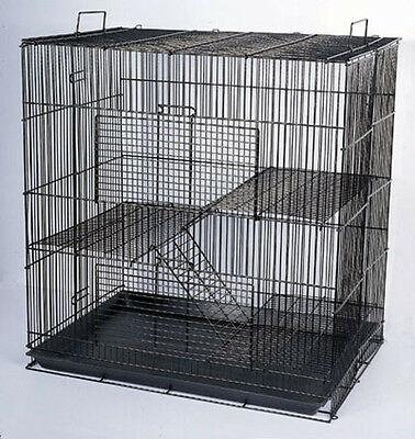 NEW Black Chinchilla Rat Guinea Pig Small Animal Mice Hamster Cage K701H-039