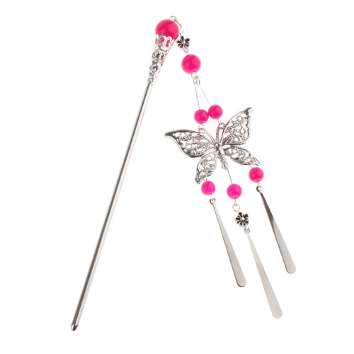 Women Butterfly Hair Pin Chinese Classical Hair Stick Hair Styling Accessories