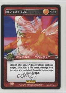 2014-Panini-039-s-Dragonball-Z-TCG-Set-1-Premiere-R143-Red-Left-Bolt-Card-0b5
