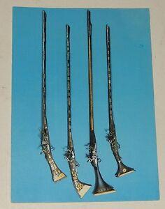 Carte-Postale-Musee-National-des-Arts-Africains-et-Oceaniens-Fusils-1972