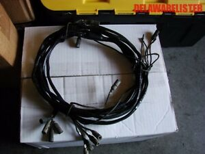 details about us military truck jeep m151 a2 mutt rear wiring harness cable nos Wiring Harness for Eclipse