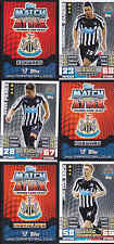 MATCH ATTAX 14/15 Colback NEWCASTLE UNITED Card No.213 FREE POSTAGE