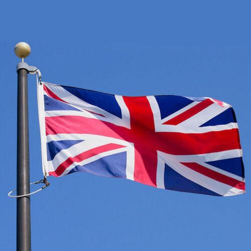 5X3FT Union Jack Large Flag High Quality Brass Eyelets Double Stitch Edge UK