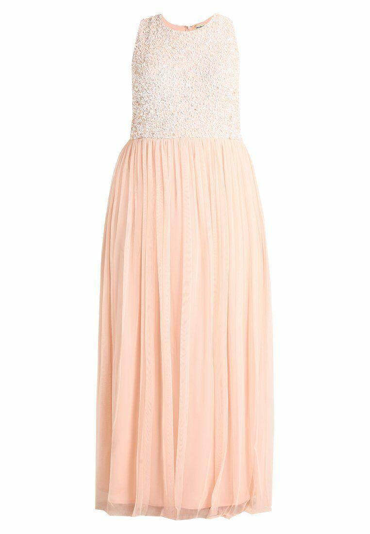 Lace & Beads Curvy Gr. 52 PICASSO Maxikleid Abendkleid Damen Damen Damen Kleid Nude A4454 ddd37f