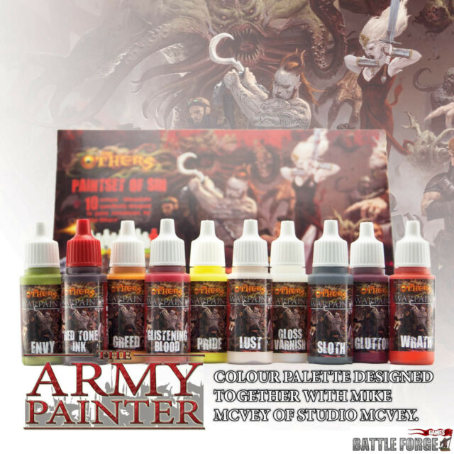 The Army Painter - The Others - Paint Set of Sin APWP8010