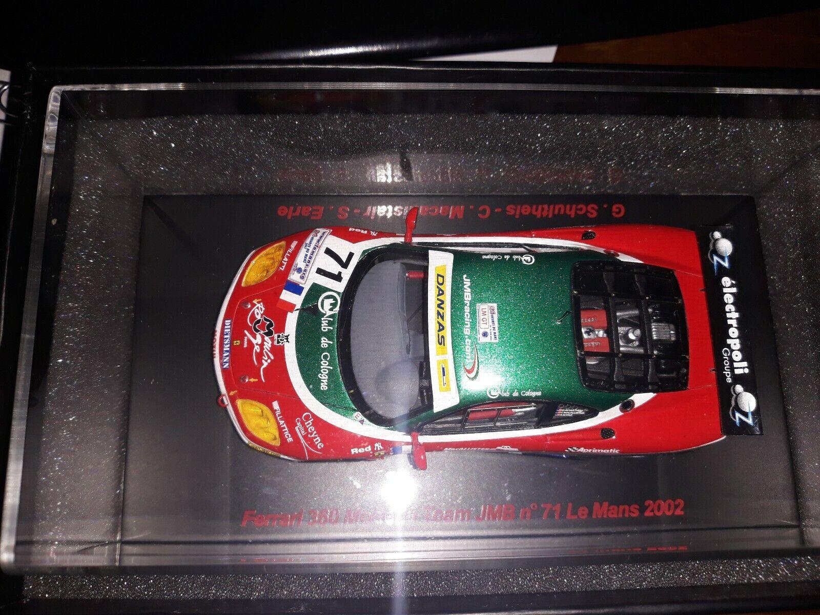 rouge Line 1 43 Ferrari 360 Modena  71 Le Mans 2002 RL002