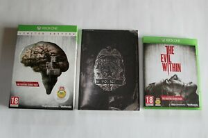 XBOX ONE (PAL VF) - The Evil Within : Limited Edition / Complet.