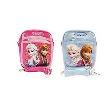Disney Frozen Elsa Anna Light Blue+Hot Pink Shoulder Purse Bags/Messenger Bags