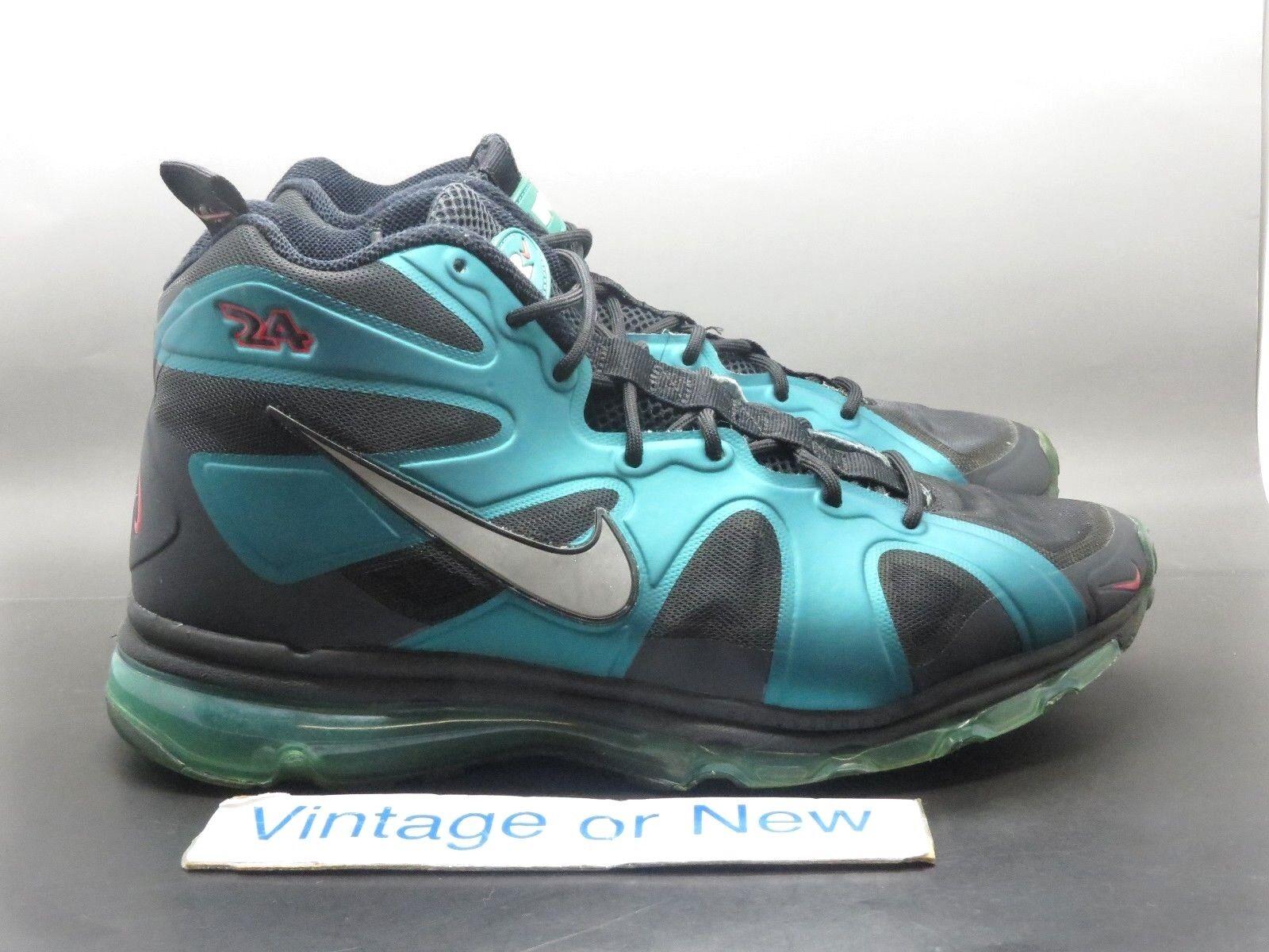 Nike Air Max Griffey Fury Fuse sz Freshwater Black Silver 2012 sz Fuse 8 09e7f6