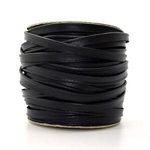10mm Noir Skai Bordure Garnitures Piping Ribbon Trim Lame à Coudre Artisanat 1m L332-afficher Le Titre D'origine