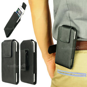 Leather-Pouch-Holster-Rotate-Belt-Clip-Case-Cover-For-iPhone-5-6-6S-Galaxy-S3-S4