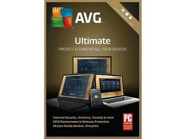 AVG Ultimate 2019 - Unlimited Devices / 1 Year