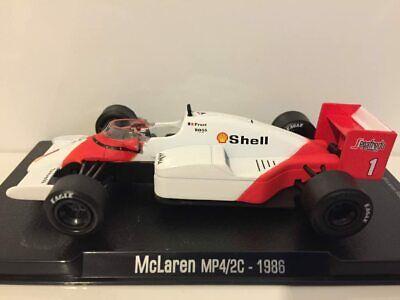 RBA ATLAS EDITIONS 1//43 MCLAREN TAG TURBO MP4//2C ALAIN PROST 1986 F1 CAR