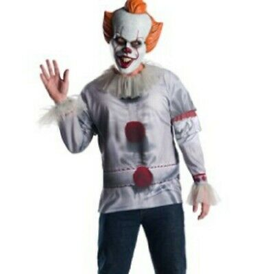 Brand New IT Movie Grand Heritage Pennywise Adult Scary Halloween Costume