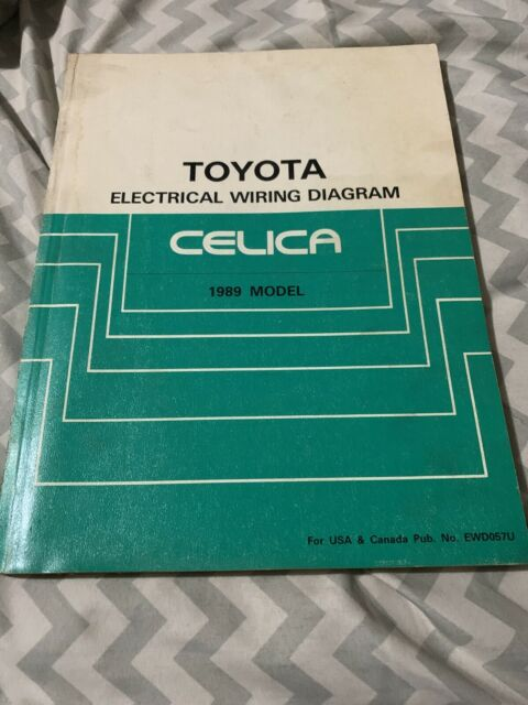 1989 Toyota Celica Electrical Wiring Diagram