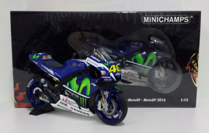 Minichamps Valentino Rossi 1/12 model Yamaha M1 Team Movister Motogp 2016