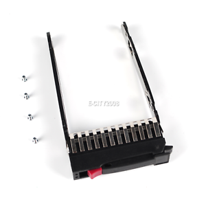 "SCREWS MSA50 MSA70 G7//G5//G6 HP 500223-001 2.5/"" SAS SATA SSD HARD DRIVE TRAY"