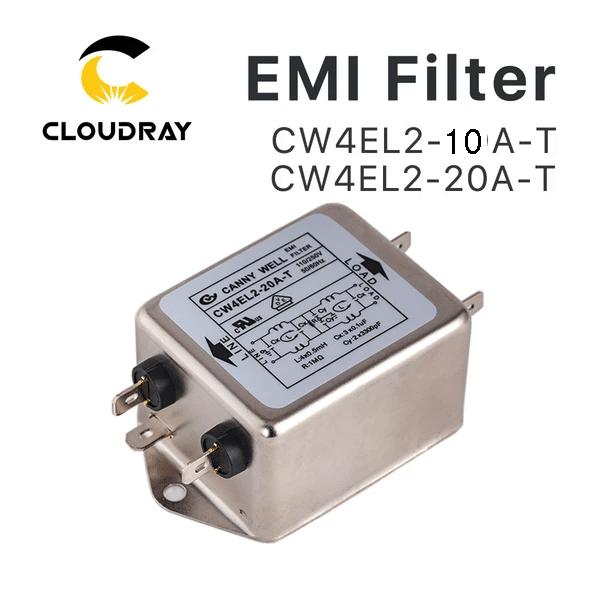 AC115~250V 20A CW4L2-20A-S Bipolar Screw-type Power Line EMI Filter