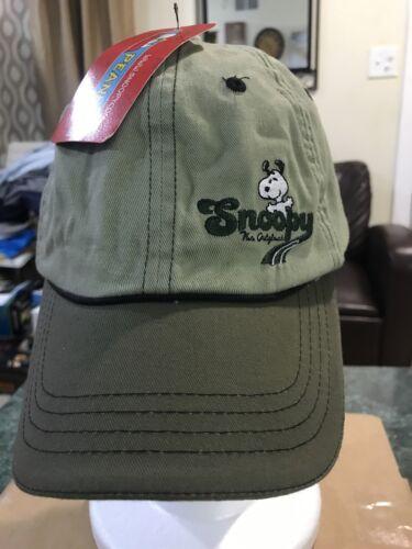 SNOOPY BASEBALL CAP. PEANUTS Baseball Cap Strapbac