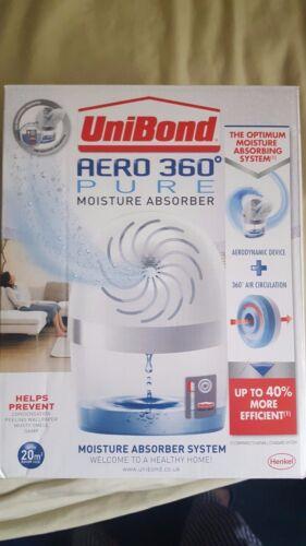 Unibond AERO 360 Pure assorbitore di umidità deumidificatore Ricarica include