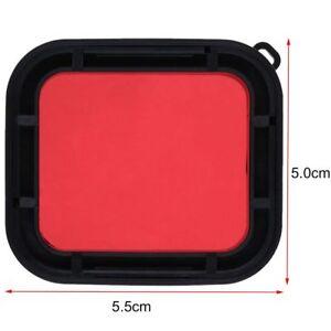 Red-Camera-Lens-Filter-For-GoPro-Hero6-5-Underwater-Diving-Housing-Case-Cover