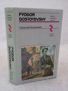 Fyodor Dostoyevsky CRIME AND PUNISHMENT 1985 Raduga Publishers, Moscow