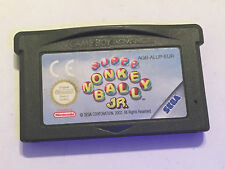 NINTENDO GAME BOY ADVANCE GBA SP GAME CARTRIDGE SUPER MONKEY BALL JR.