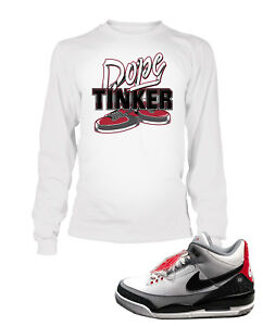 0e8fff02bbb8 Dope Tee Shirt To match Jordan 3 Tinker Shoe Men Graphic T Sizes ...
