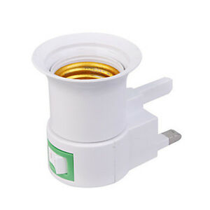 UK-AC-Plug-To-E27-LED-Light-Lamp-Bulbs-Adapter-Converter-with-ON-OFF-switch