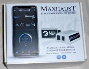 Maxhaust Soundbooster Kit For Bmw I12 I8 Exhaust Simulation Sound