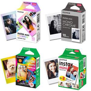 Fujifilm Instax Mini Film Fuji Instant 8 9 Papers Sheets For Polaroid 300 Camera