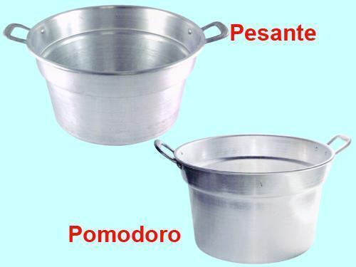 LT PENTOLE PENTOLA CALDAIA IN ALUMINIO MODELLO PESANTE Ø 36 CM 11