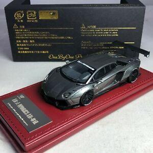 1-43-Hi-Story-Tiger-gate-LB-WORKS-Lamborghini-aventador-lp700-4-Matt-BK-LBA103MB
