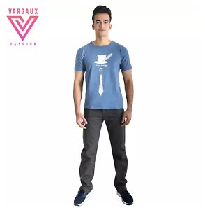 Vargaux-039-s-Bindwood-Men-Casual-Jeans-Relax-Fit-Denim-Pants-Dark-Size-33