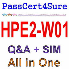 HP Selling Aruba Products and Solutions HPE2-W01 Exam Q&A PDF+SIM