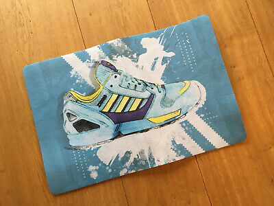 Adidas-zerbino, Doormat 69x45-zx9000 Zx8000 Zx7000 Zx4000 Zx10000 New! Aqua-