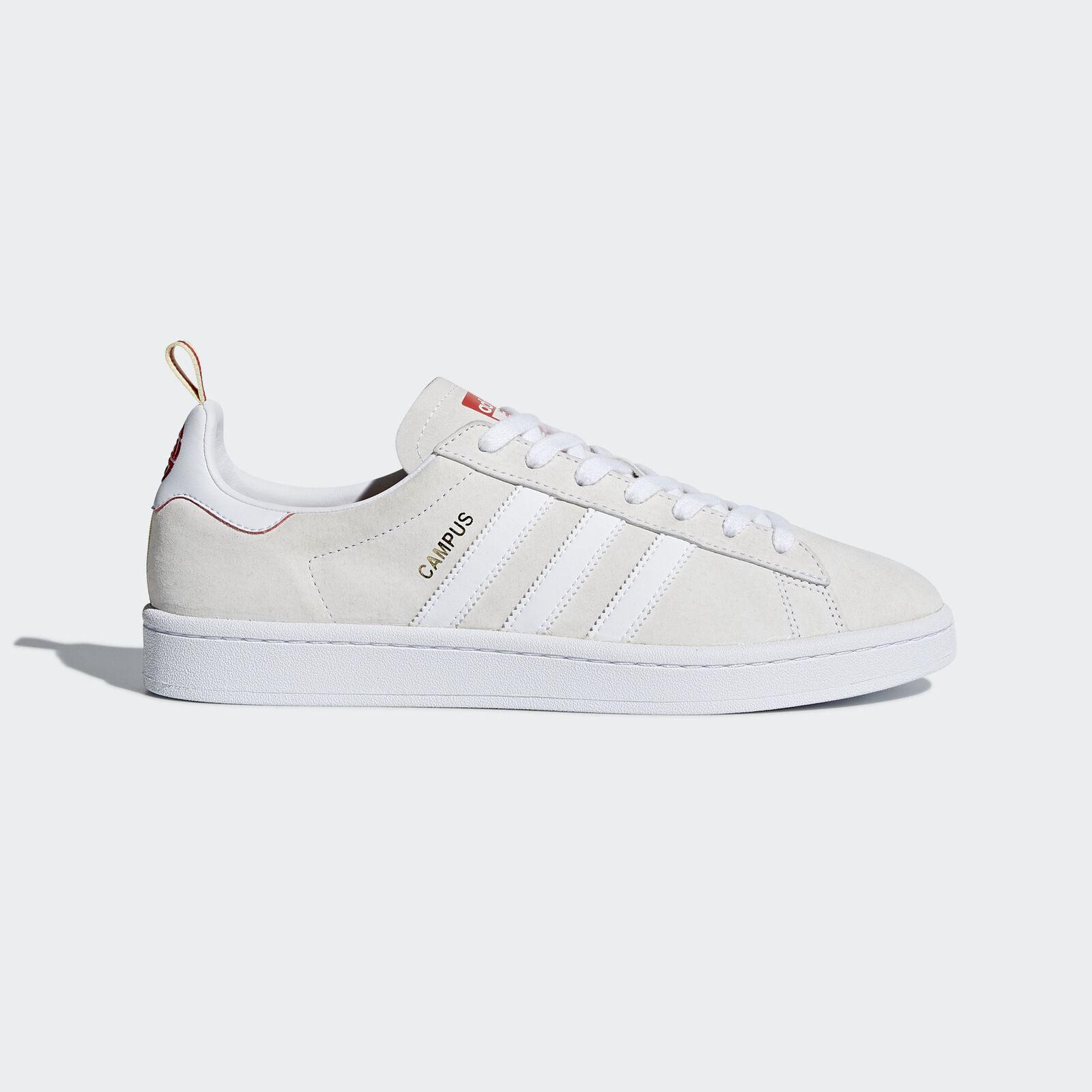 Adidas Originals Campus CNY reducción hombres de precios de los hombres reducción zapatos casuales año del perro blanco / rojo 48a711