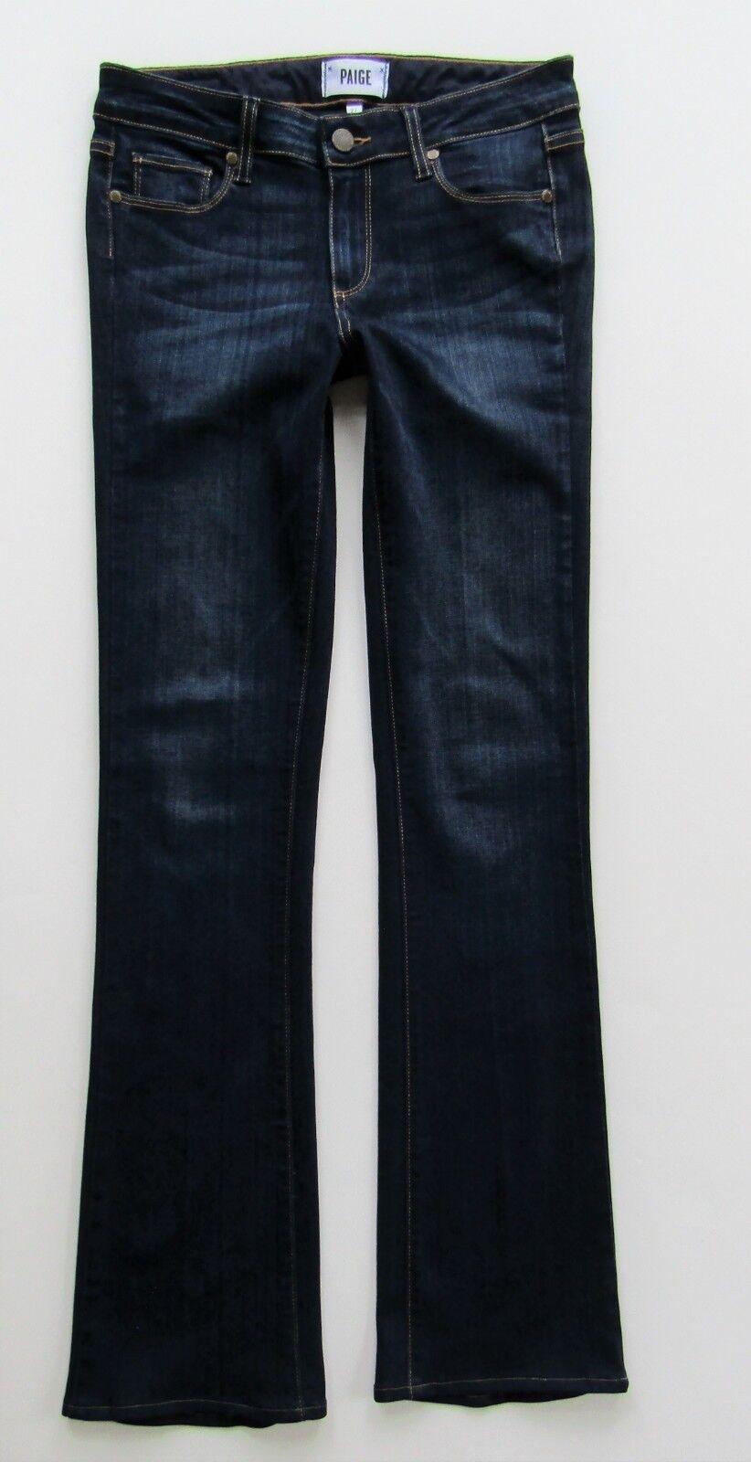 Paige Manhattan Slim Stiefel Cut Transcend Jean à Armstrong, foncé-Größe 27 X 31.5