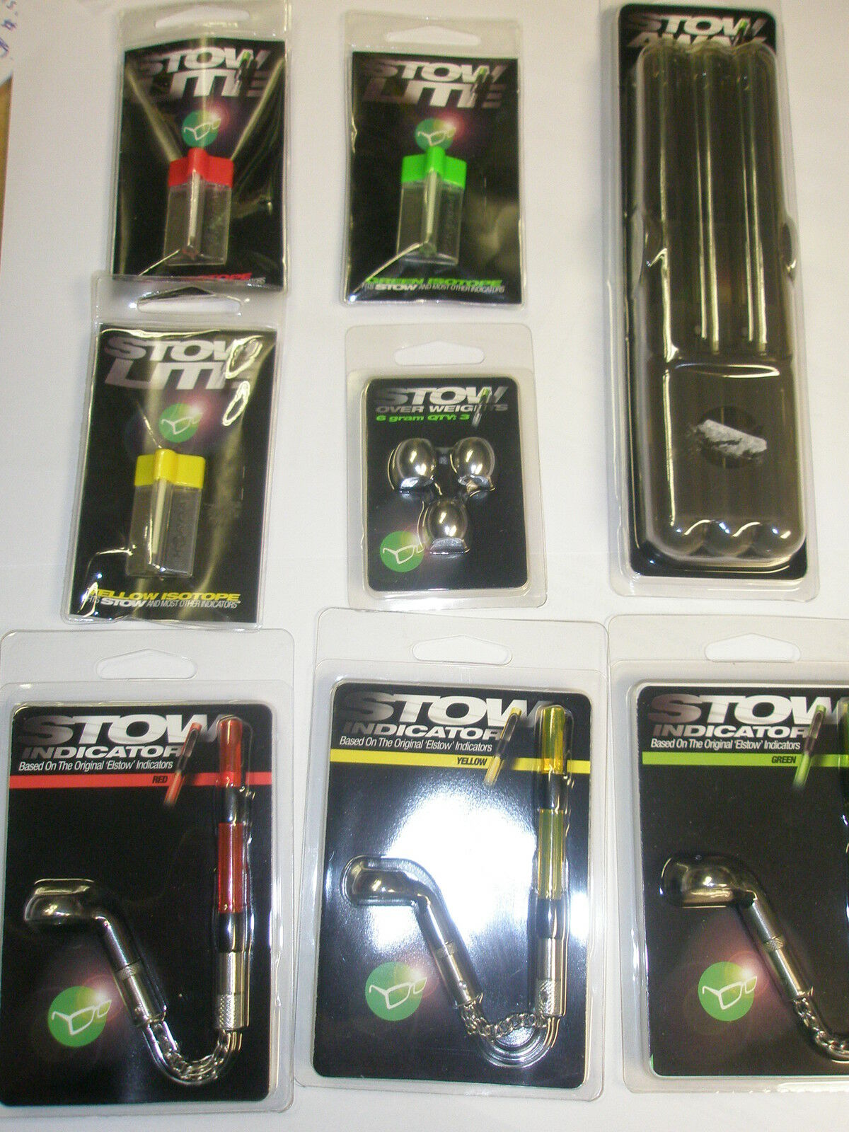 Korda NEW Stow Indicator GIFT SET 3 rod  setup Carp fishing  best sale