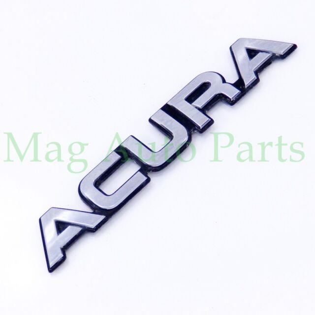 91-95 Acura 4dr Legend Trunk Emblem Script Nameplate OEM