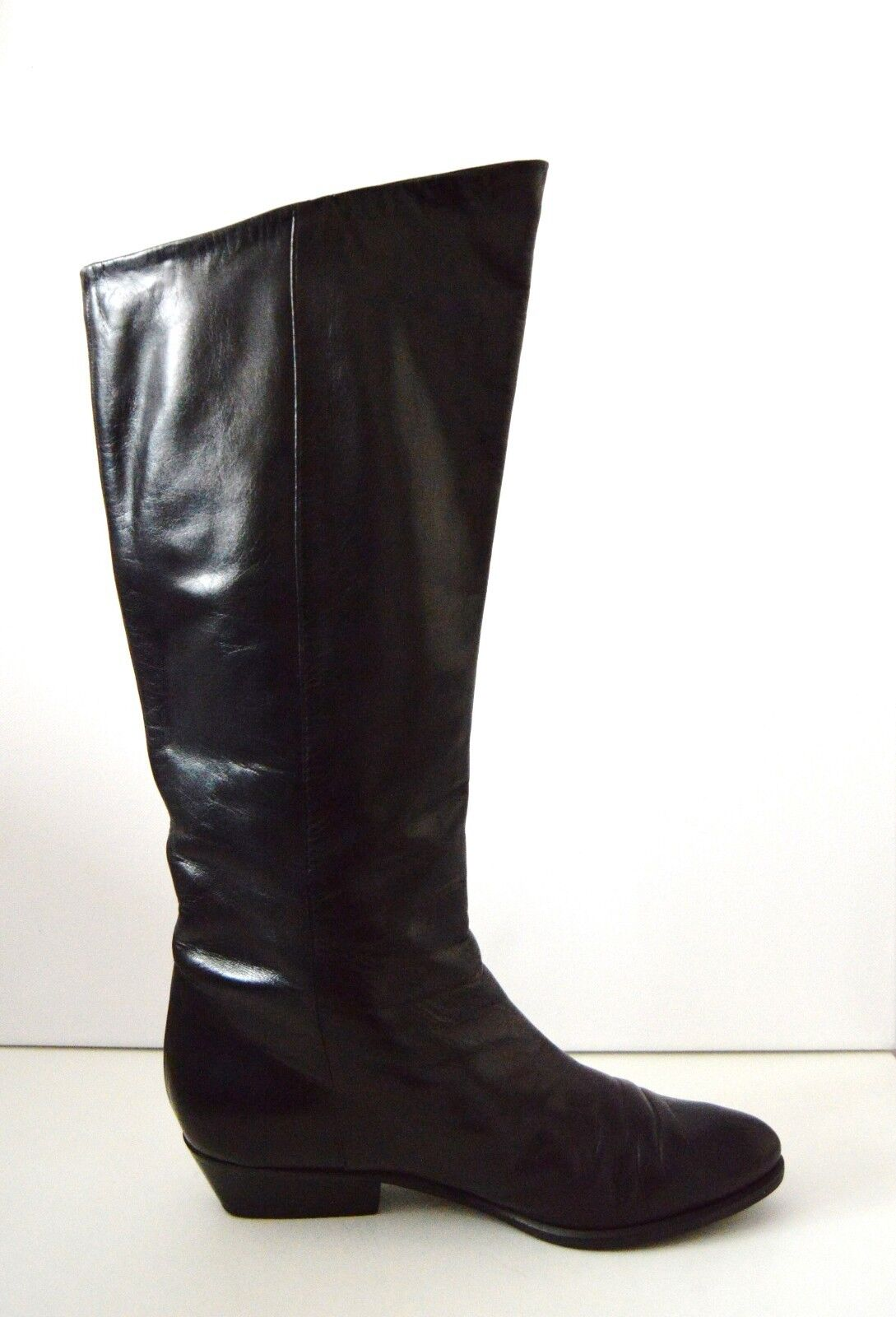 Damen Stiefel flach VENEZIA Stiefel stivali Winterstiefel flach Stiefel 90er TRUE VINTAGE a09518