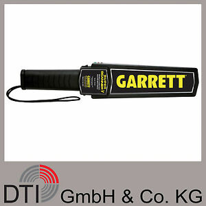Garrett-Super-Scanner-V-Metalldetektor-Handdetektor-Metallsonde